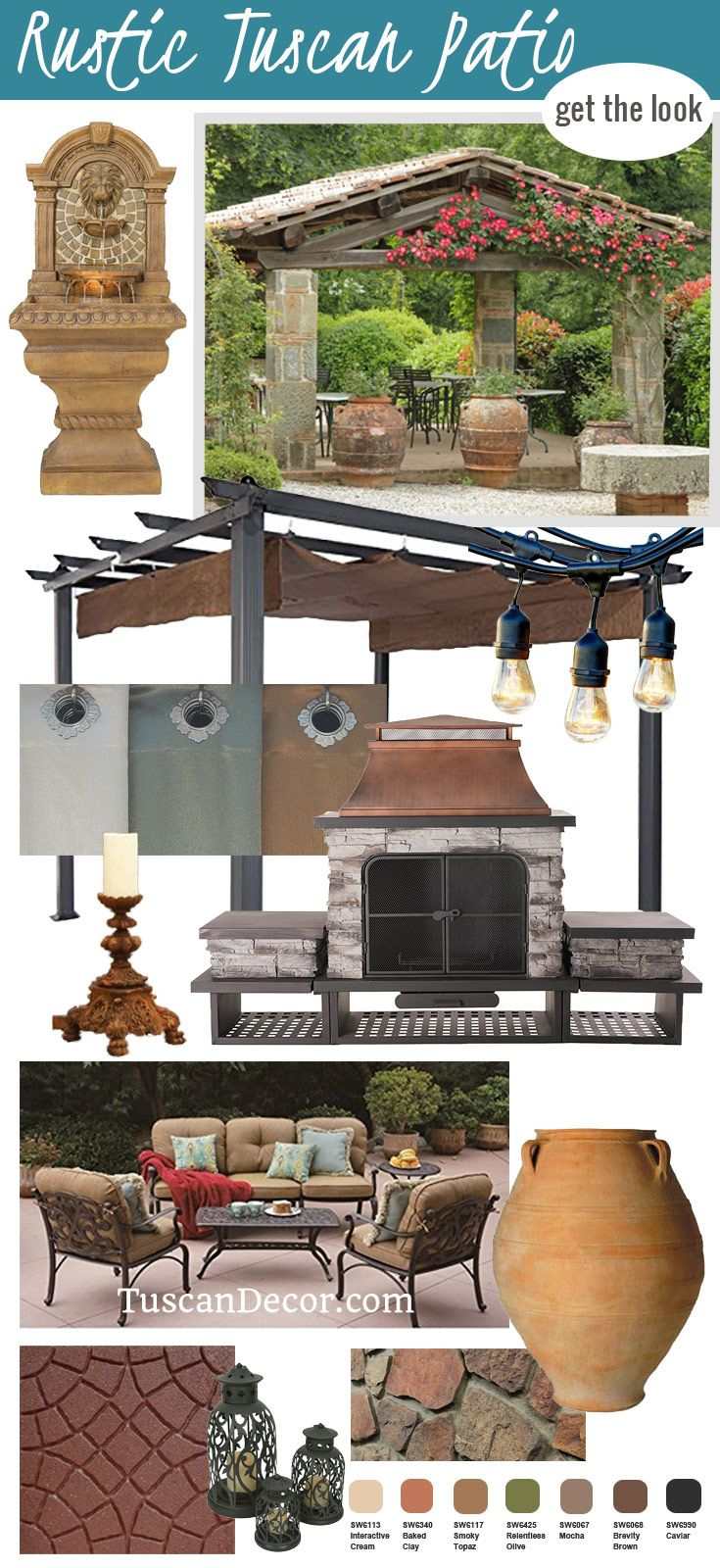 See the ultimate guide to Tuscan Patio Design. Get ideas for ...