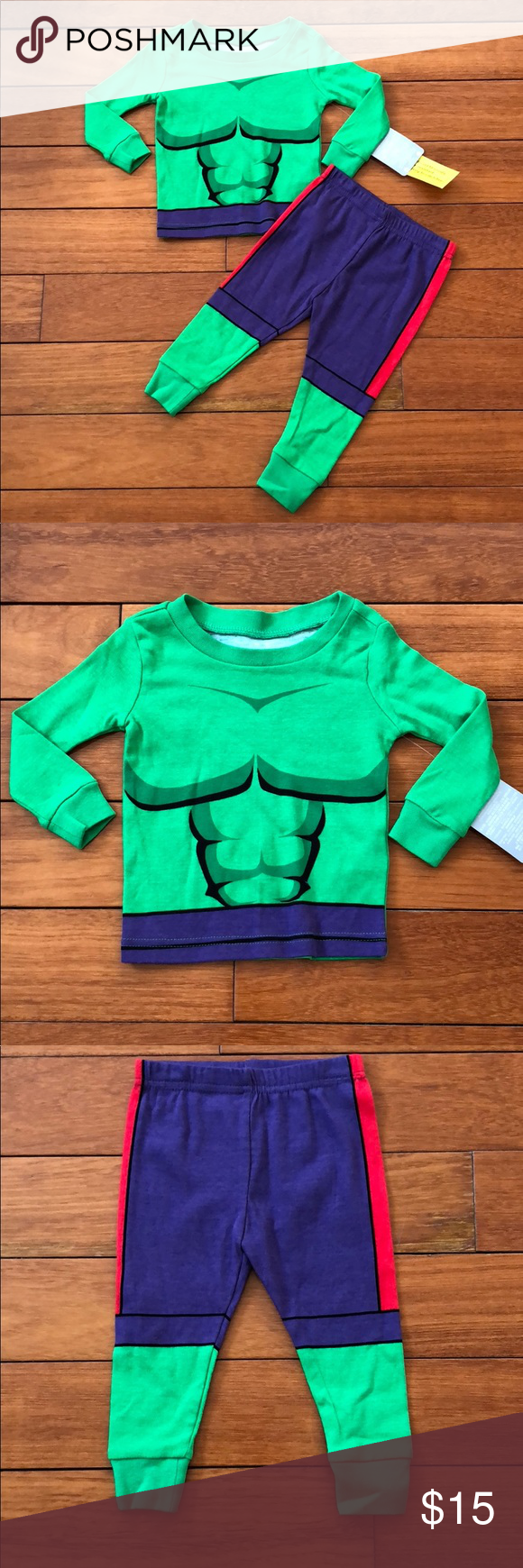 NWT Baby Gap Dinosaur Short Sleeve Shorts Pajamas PJs 2PC Toddler Boy