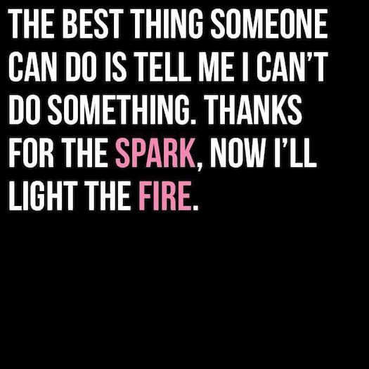 Light the fire. ~ #SheQuotes #quote #power #women #feminism #voice  #change #culture