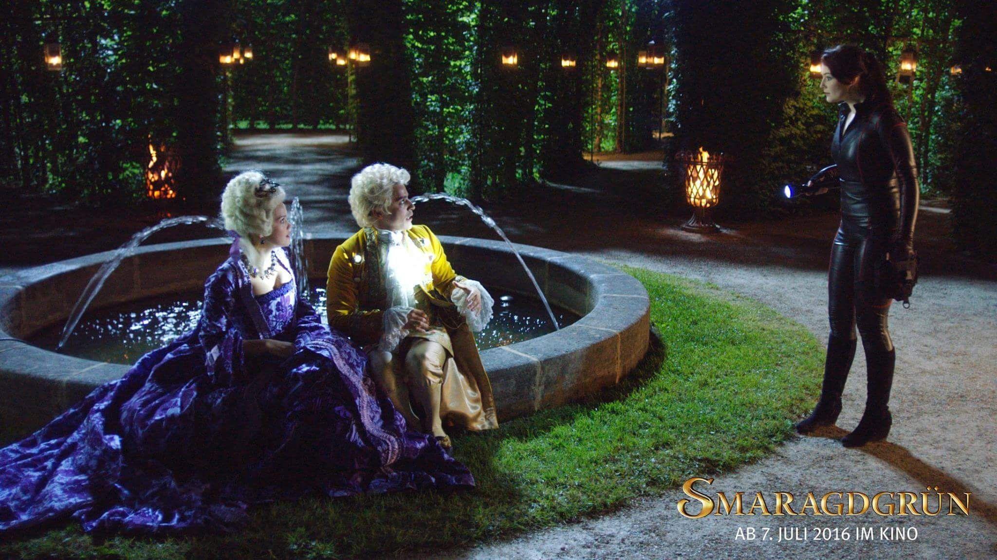 Lady Amalia Smaragdgrün