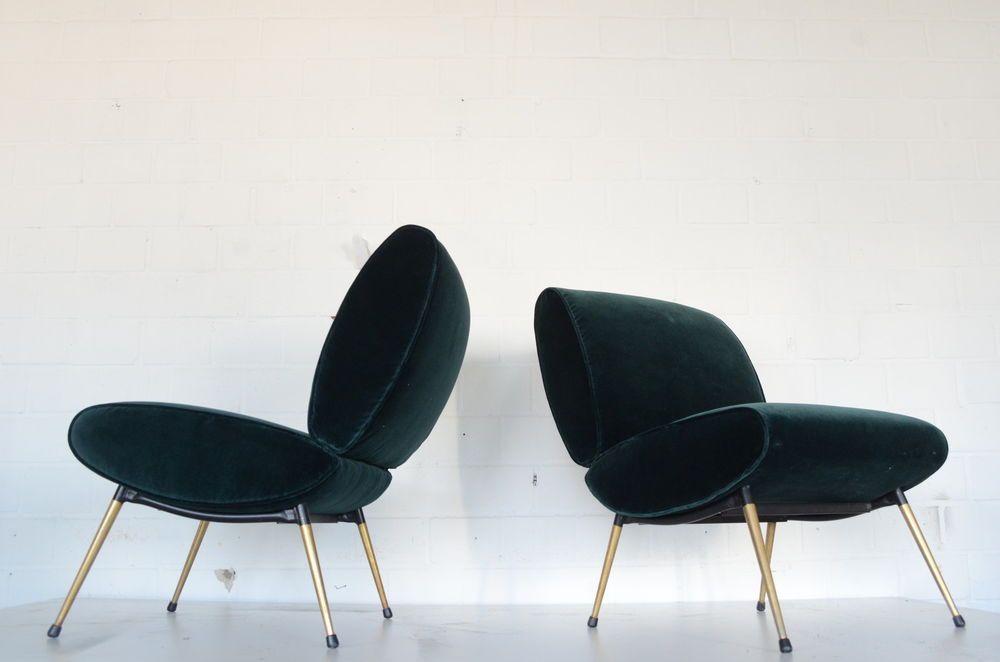 Sessel Lounge Chair 50er 60er Gio Ponti Knoll Vintage Design