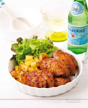 วิธีทำ ปีกไก่นิวออร์ลีนส์ | สูตรอาหาร จานโปรด