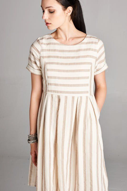 Lucy Striped Dress  631f09150