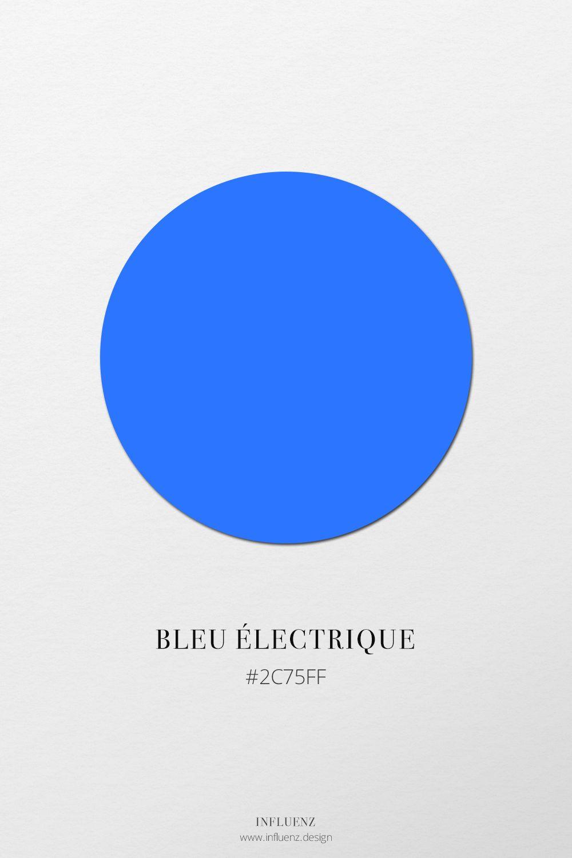 Champ Chromatique Bleu Nuancier