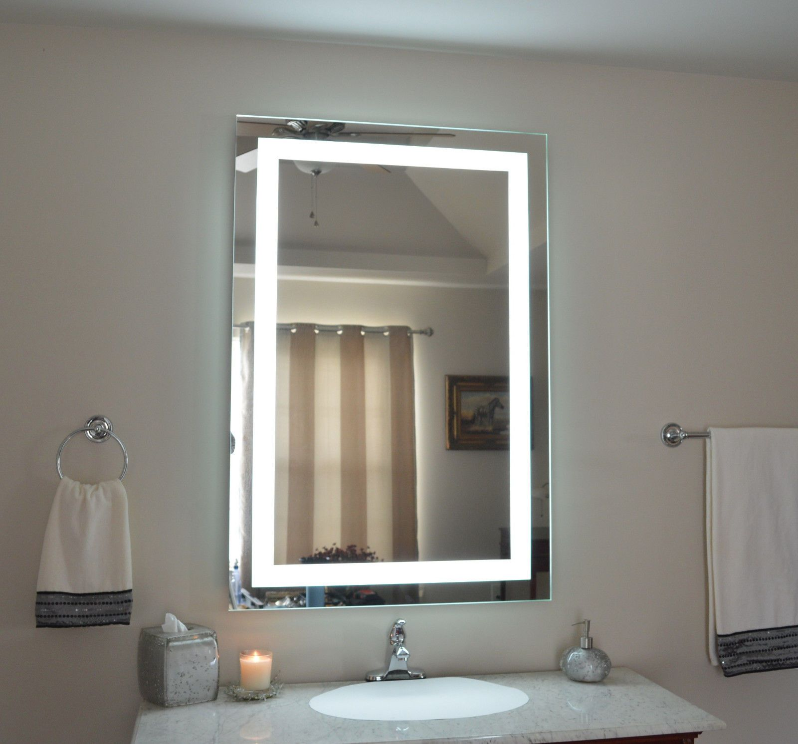 Photos Of MAM w x t lighted vanity mirror wall mounted LED makeup mirror