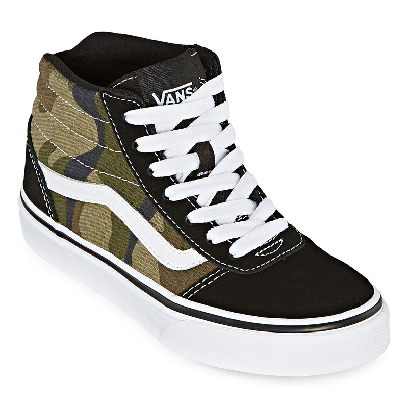 Vans Vans Ward Hi Boys Skate Shoes Lace