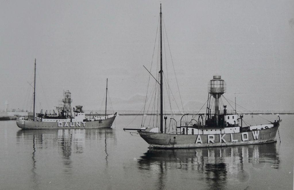 Lightships Albatross and Kittiwake | Photo taken at Dun Laog… | Flickr
