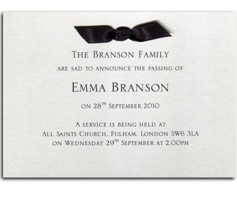 Funeral Invitations Wording Funeral Invitation Invitation Wording Invitations