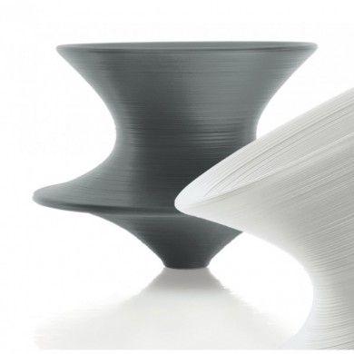 Fauteuil Spun Anthracite Fauteuil Tournant En Polyéthylène Conçu - Fauteuil tournant design