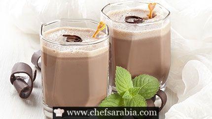 سموثي الشوكولاتة والنعناع