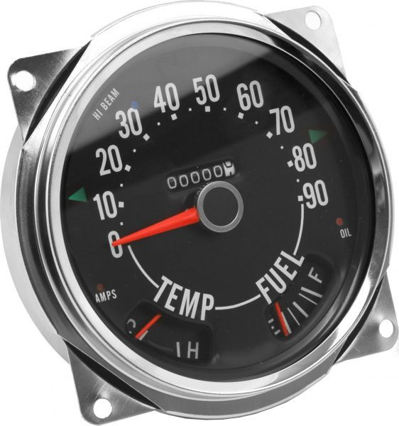 Crown Automotive 914845 Sdometer Cluster (0-90 MPH) for 55-79 ... on
