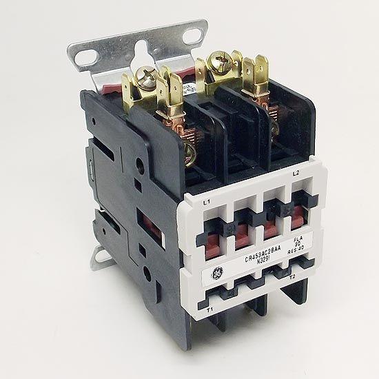 GE CR453AC2BAA GE Contactor 30A 2P 240V GP Contactors