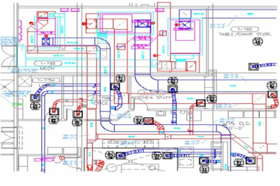 Accurate And Energy Friendly Hvac Drafting Services Hvac Design Hvac System Plumbing Drawing