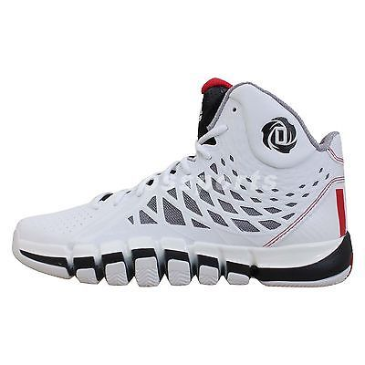 110846bc0f4b Adidas D Rose 773 II 2 White Red Black 2014 Mens Basketball Shoes Derrick 4  see