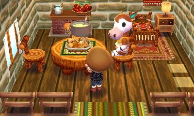 オカッピ 木の家具に囲まれたい Happy Home Designer Animal