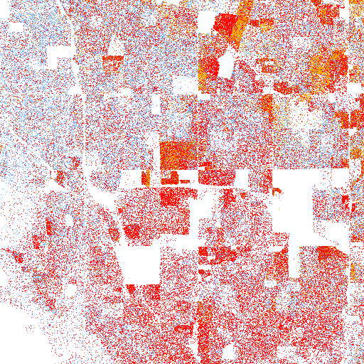 The Racial Dot Map One Dot Per Person for the Entire US Maps