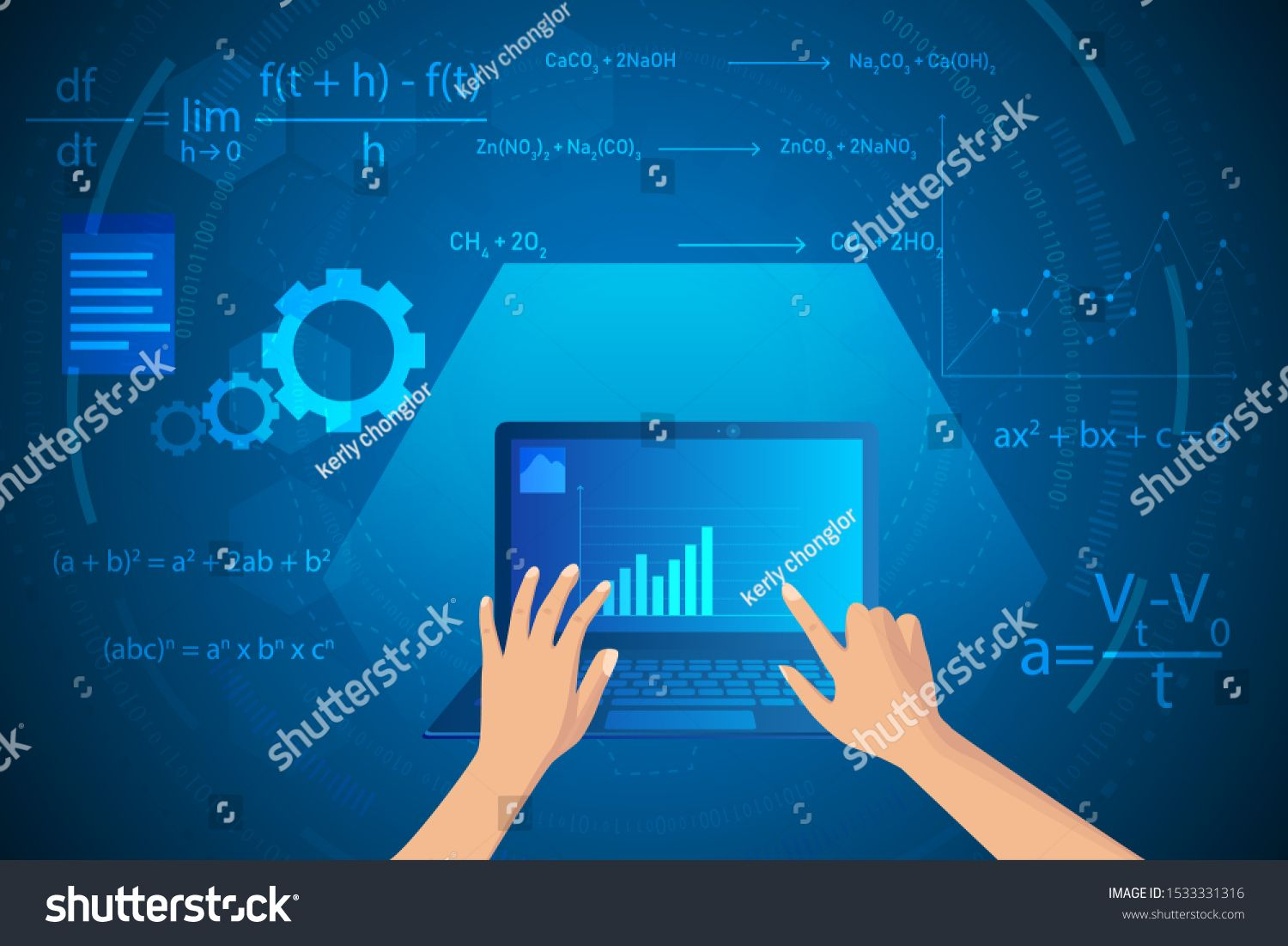 Mathematics And Physics On Technology Abstract Background Learning And Study Online On Computer Ad Spon Techn Abstract Backgrounds Mathematics Abstract