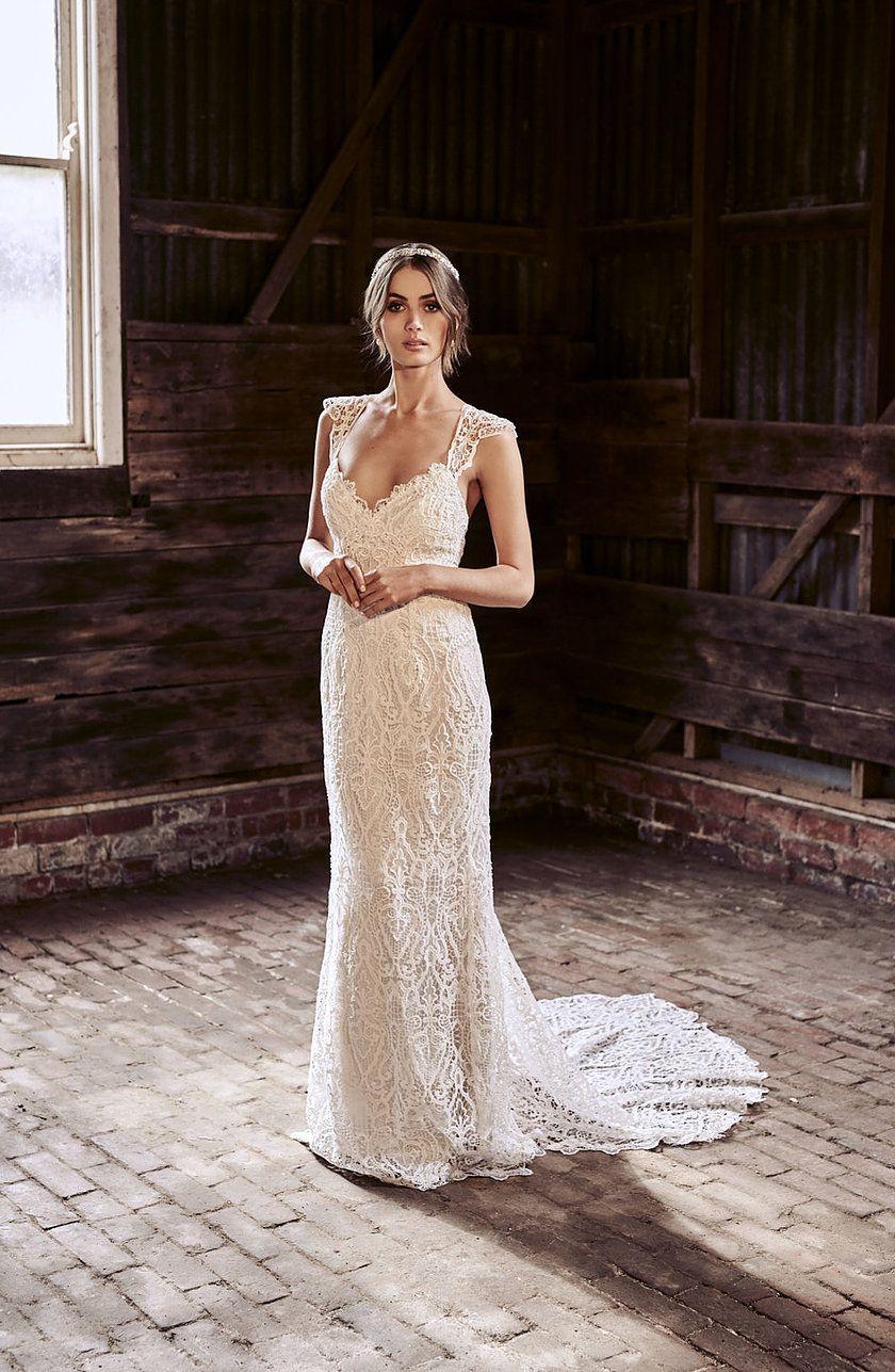 Anna Campbell Eleanor Gown Wedding Dress Wedding Dresses