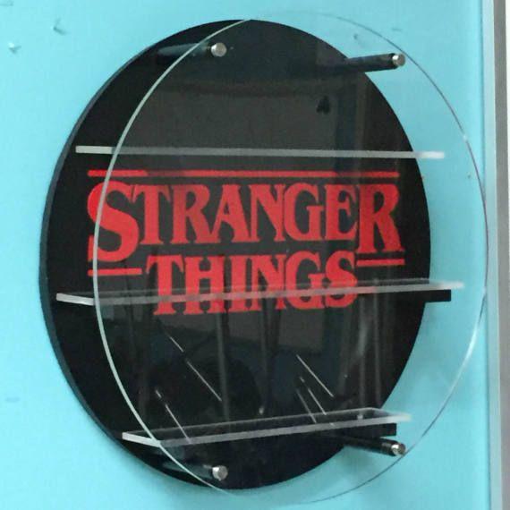 stranger things display shelf for funko pop vinyls dorbz. Black Bedroom Furniture Sets. Home Design Ideas