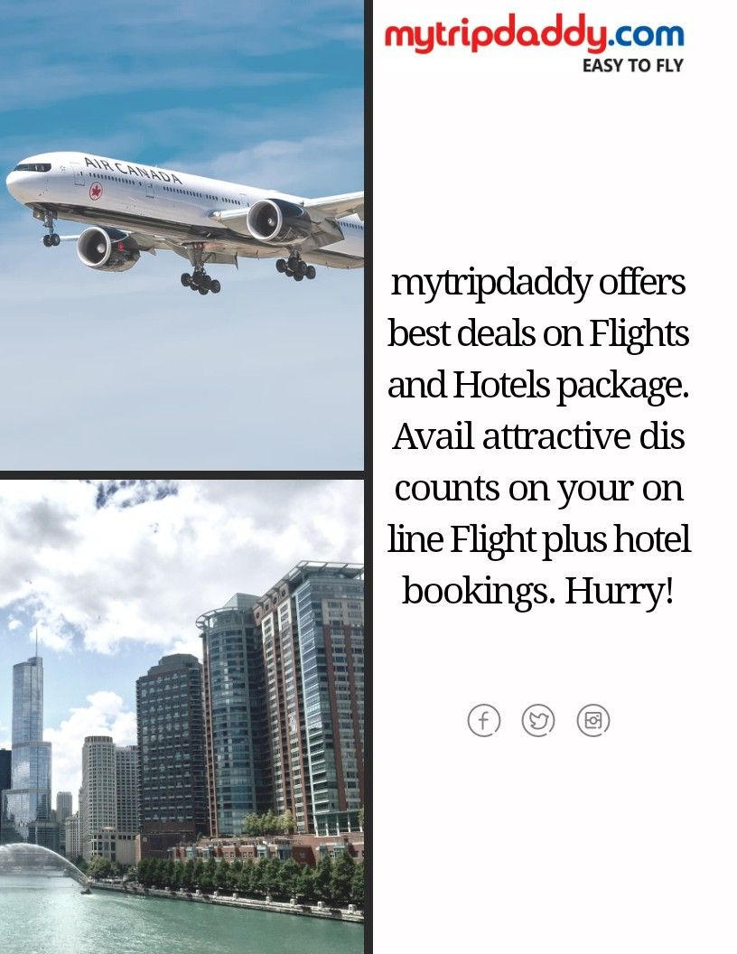 Book Your Flights And Hotel At Mytripdaddy Flight Hotel Cheap