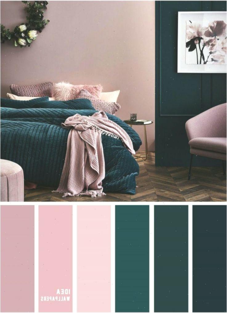 10 Best Color Schemes For Your Bedroom Deep Ocean Teal Mauve