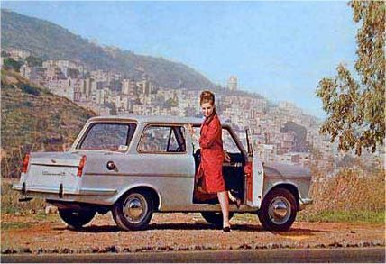 Autocars Carmel - Israeli car from the 1960s. Manufactured in Israel using Triumph engines and other components.