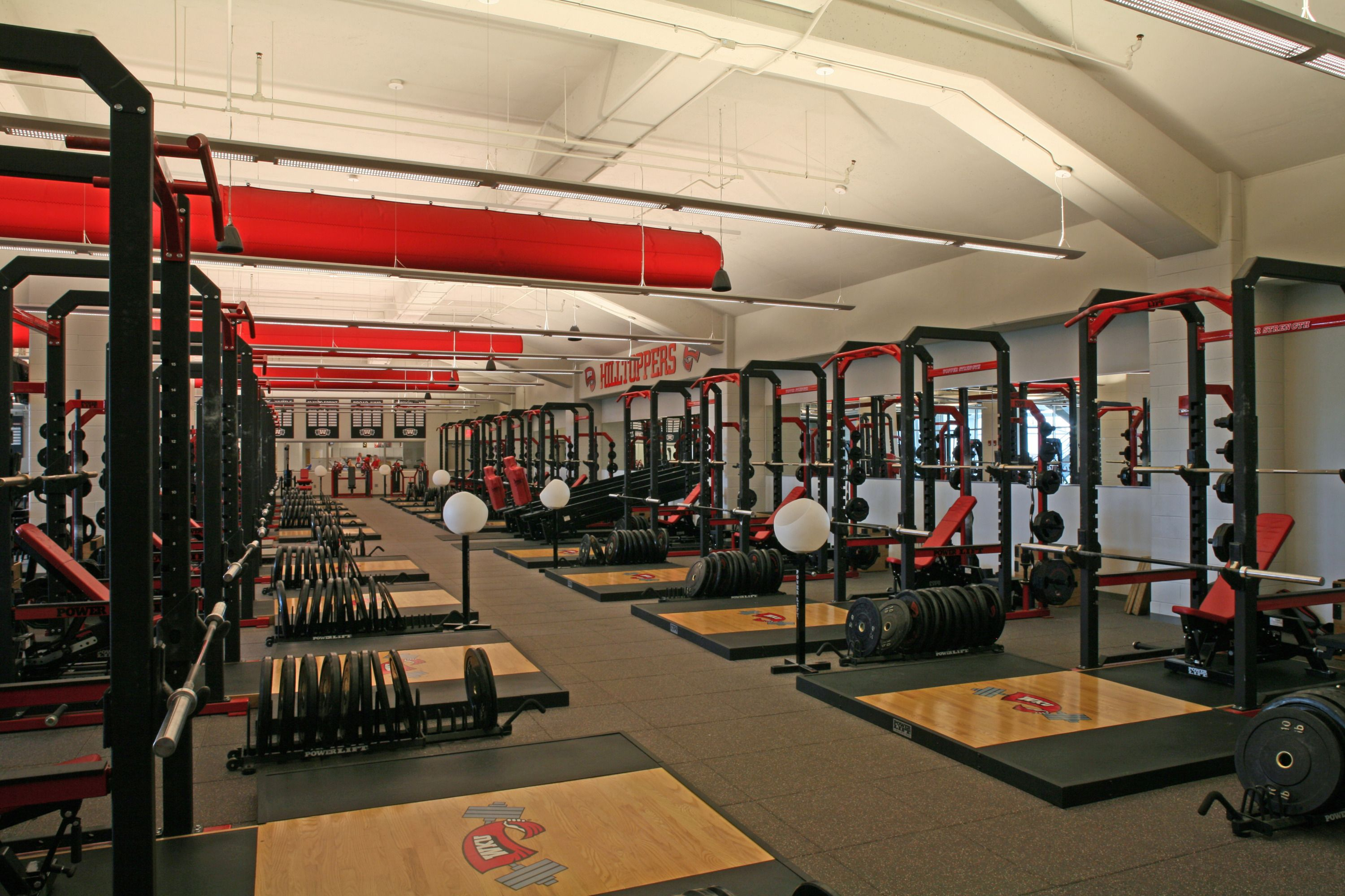 Western Kentucky University Hilltoppers | College Weight Rooms in