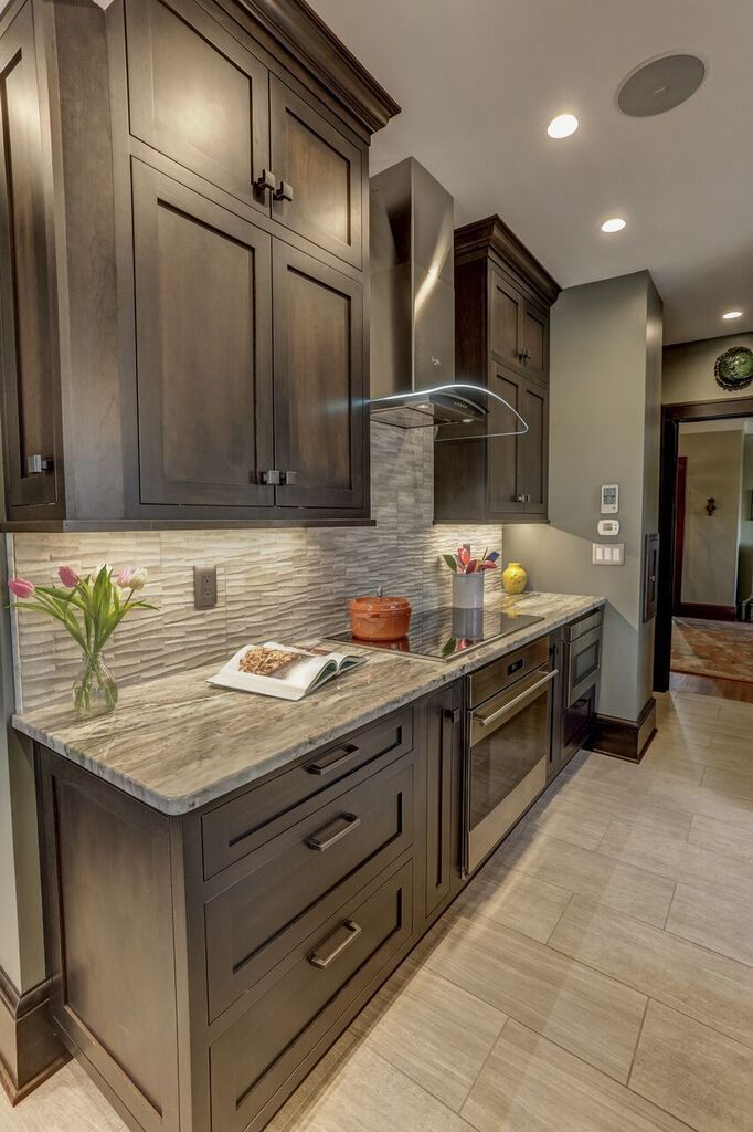 Beautiful High End Kitchen Remodel Featuring Cherry Dura Supreme