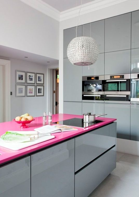 nobby design girly kitchen decor. Pink and white kitchen Colour Schemes Ideas for Kitchen  leah Pinterest Black countertops color schemes walls