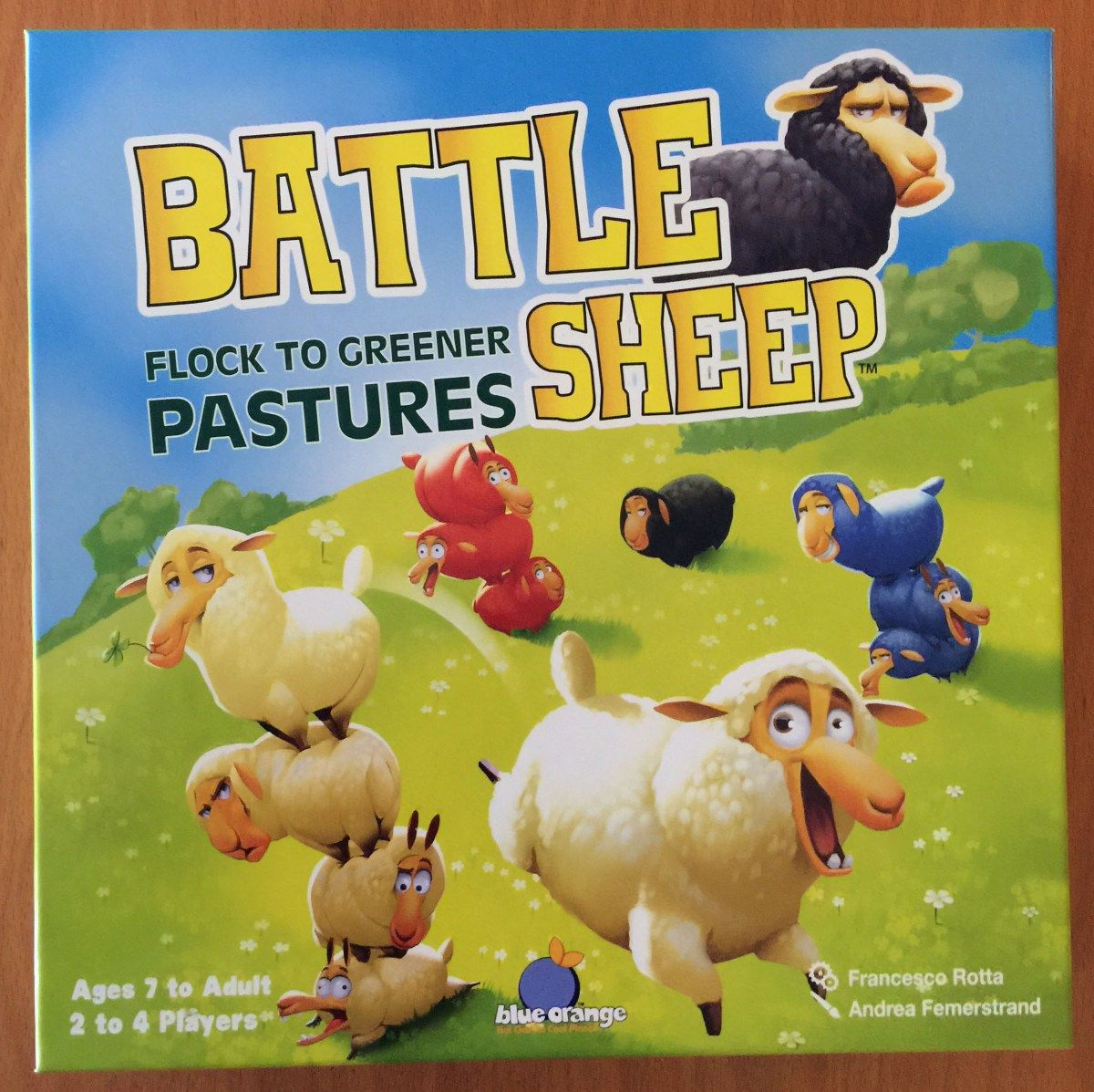Tabletop Game Battle Sheep