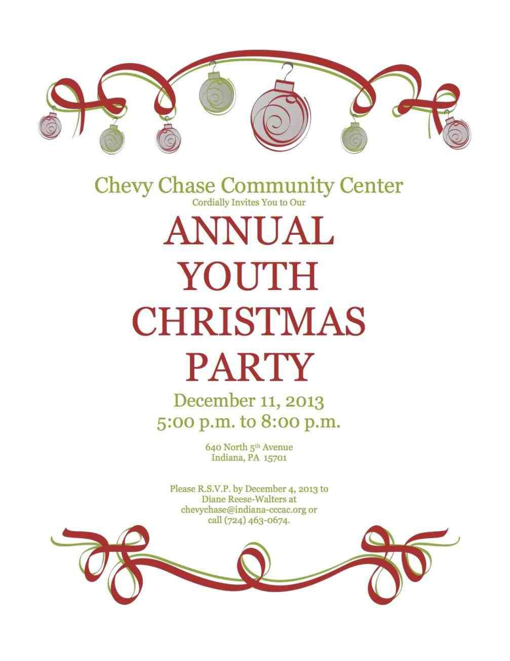 New Post company christmas party invite | Decors Ideas | Pinterest