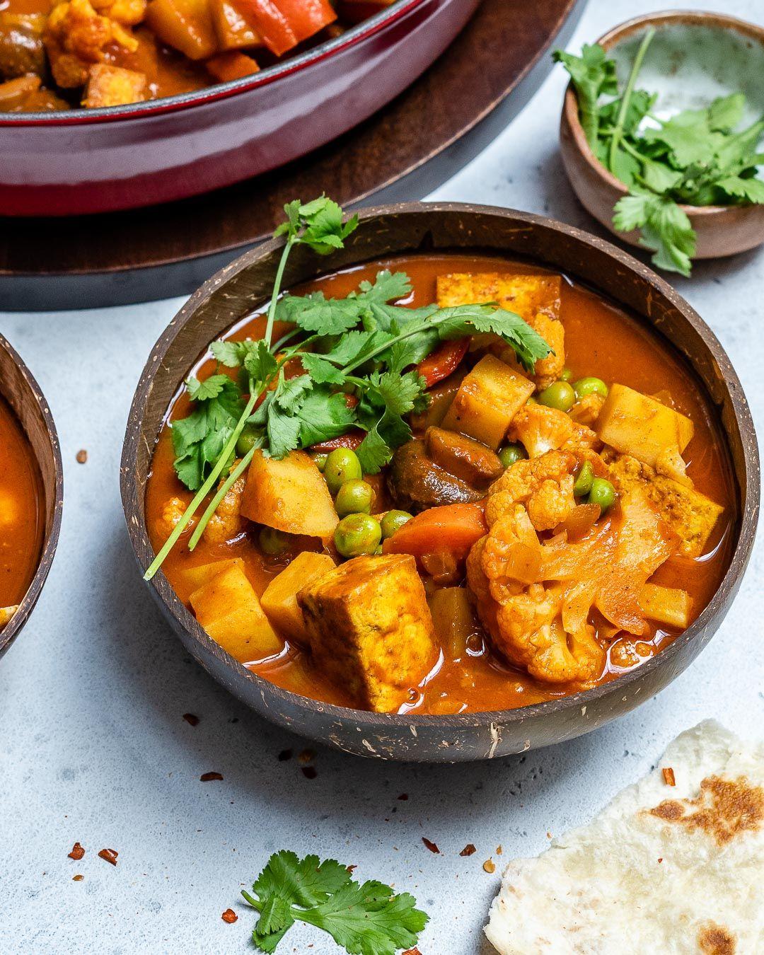 Vegan Tikka Masala Recipe With Tofu And Cauliflower Rezept