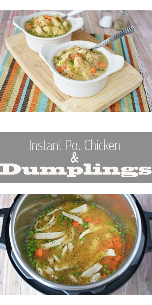instant pot chicken  dumplings  chicken and dumplings