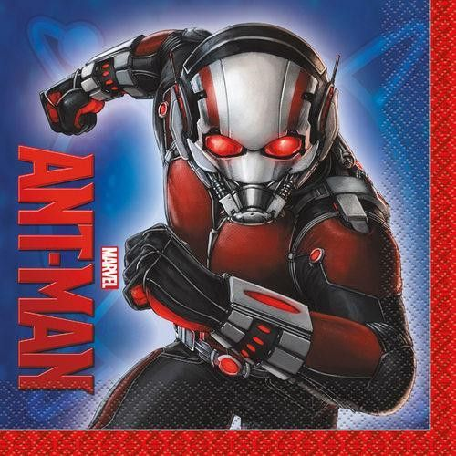 Marvel Ant Man Luncheon Napkins [16 per Pack]