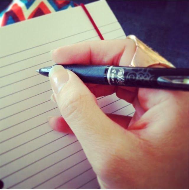 Amy's-List: My Love Affair... #writing #pens