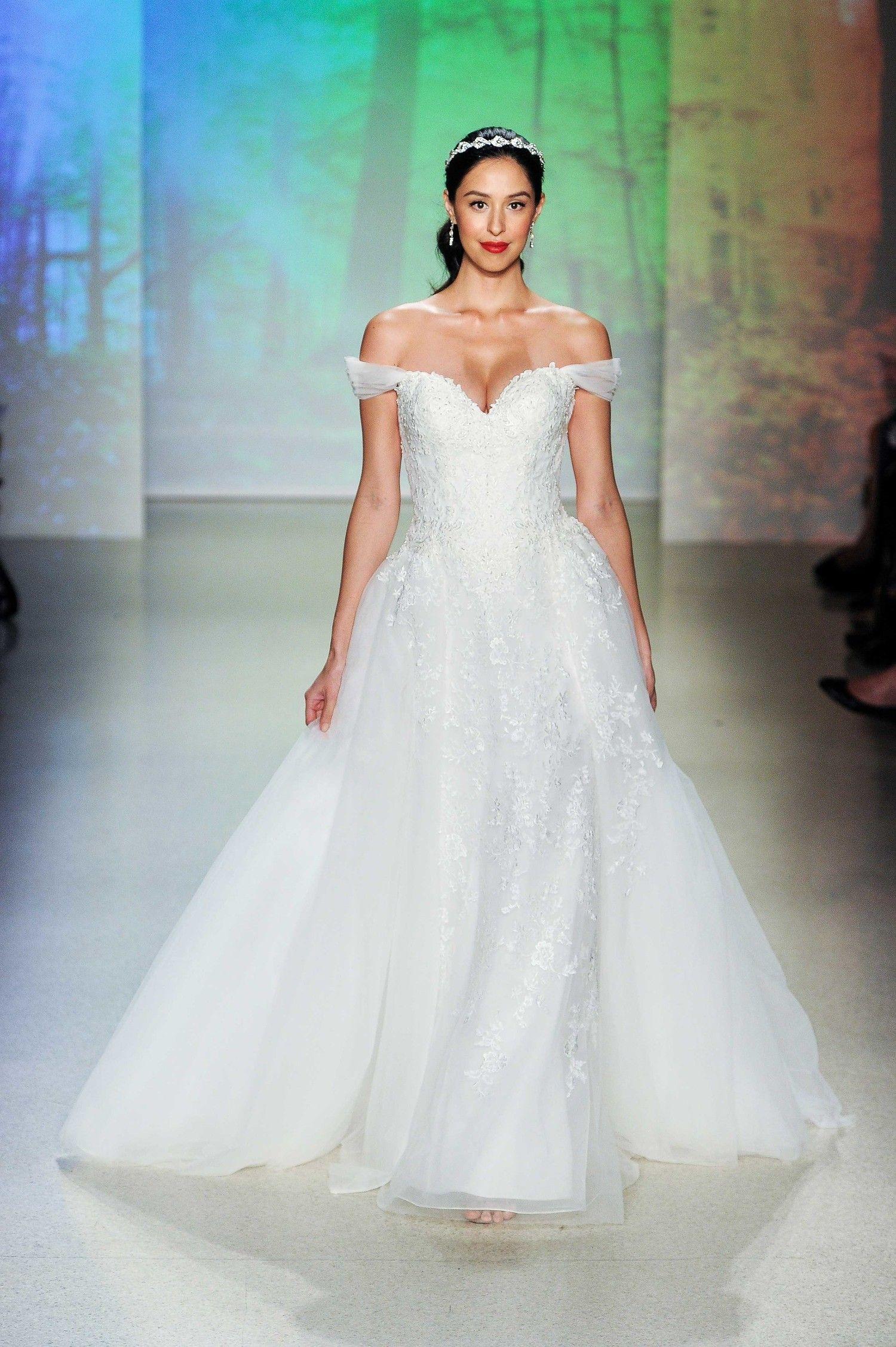 Disney Fairy Tale Bridal by Alfred Angelo Fall 2017 Wedding Dress ...