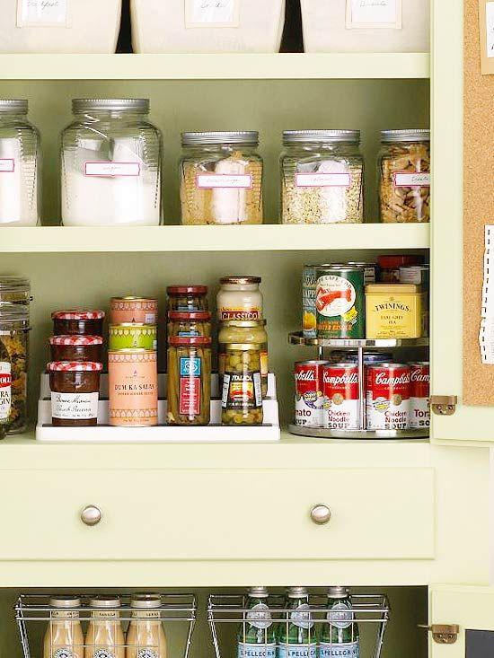 25 Kitchen Organization And Storage Tips Organization Hacks Kitchen Organization Getting Organized