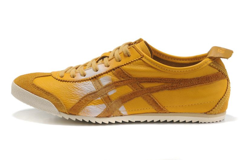 onitsuka tiger nippon made mexico 66 deluxe blue/yellow