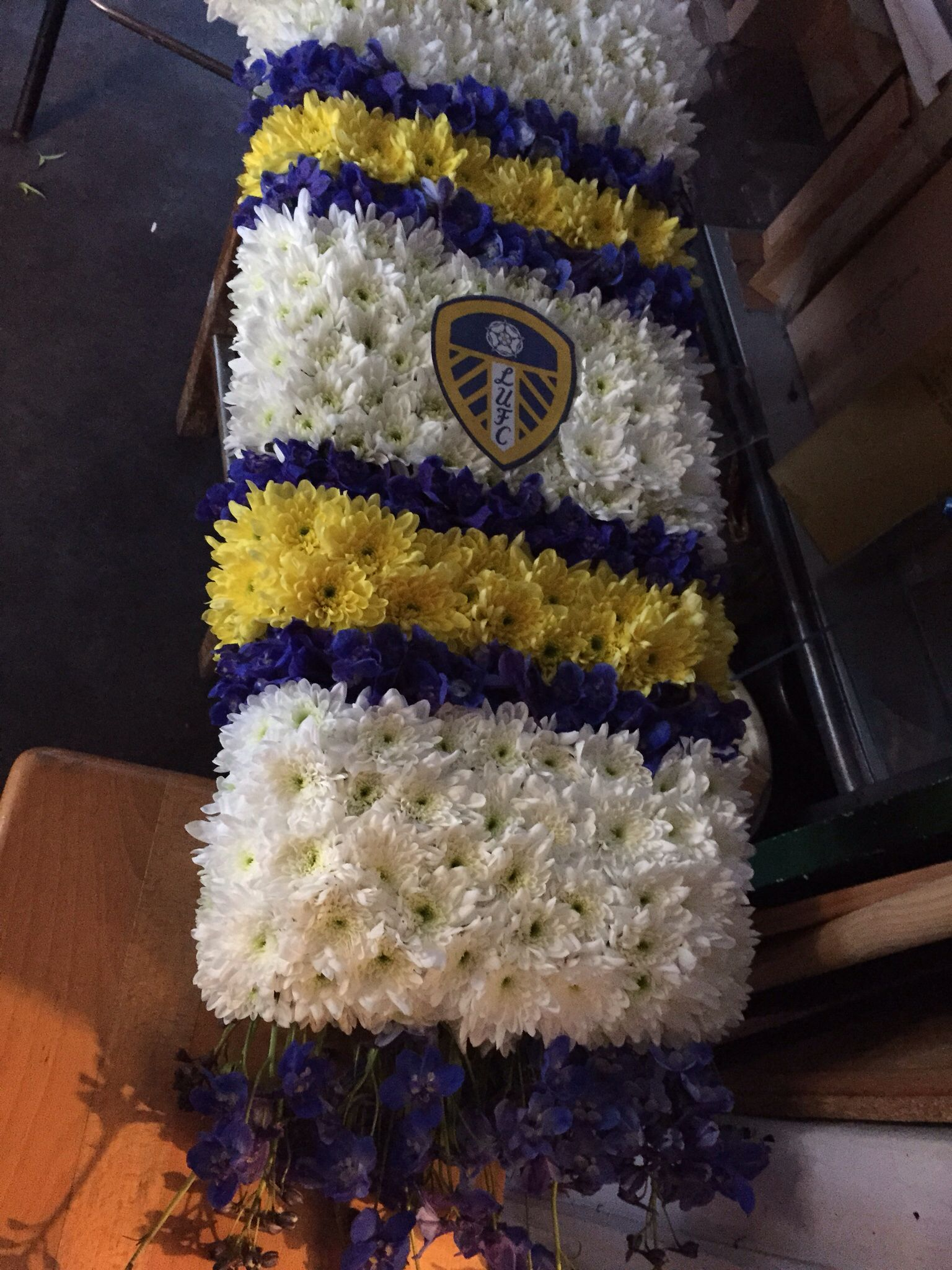 Leeds united floral tribute funerals pinterest funeral tributes leeds united floral tribute funeral tributesleeds united dhlflorist Choice Image