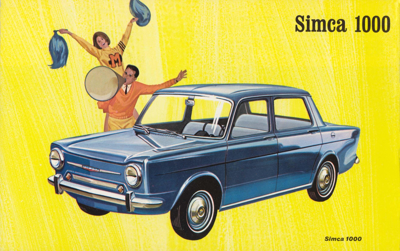 Super publicités anciennes | toute une histoire | Pinterest | Simca  AW09