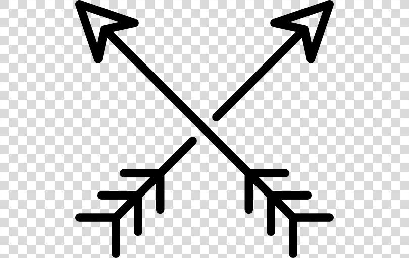 Arrow Hipster Cross Arrow Png Hipster Area Black And White Symbol Text Crossed Arrows Arrow Png