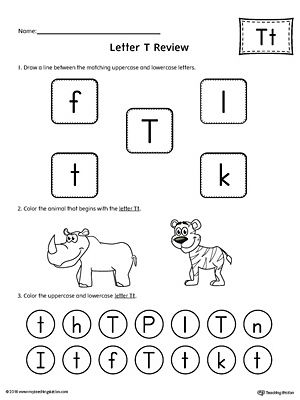 All About Letter T Printable Worksheet Printable worksheets - printable worksheet