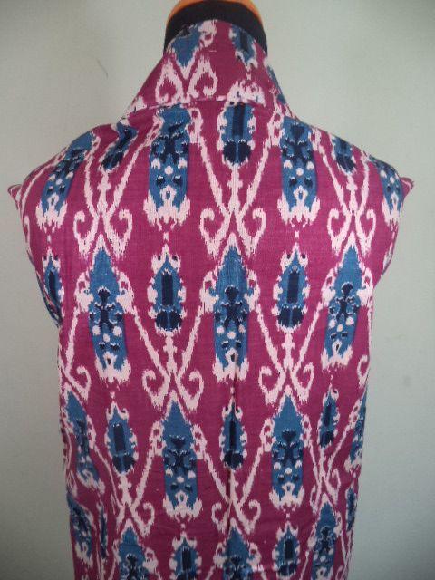 Kain Batik Motif Abstrak Merah Batik Cap Tradisional Handmade Bahan Katun Ukuran 1 15 X 2m Pakaian Wanita Kain Wanita