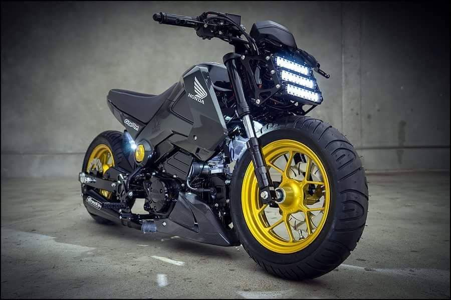 200+ Custom Honda Grom | MSX125 Pictures / Photo Gallery. Stretched ...