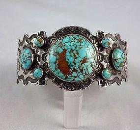 Great Railroad Jewelry Turquoise Bracelet
