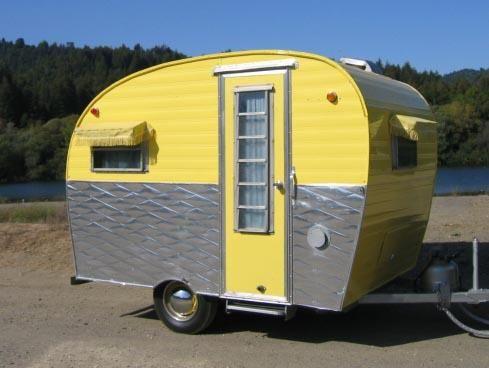 1965 ARROW LITTLE CHIEF Haslam & Bruck | vintage camper trailers