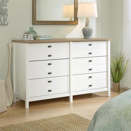 Sauder Cottage Road Dresser, Soft White Finish Walmart