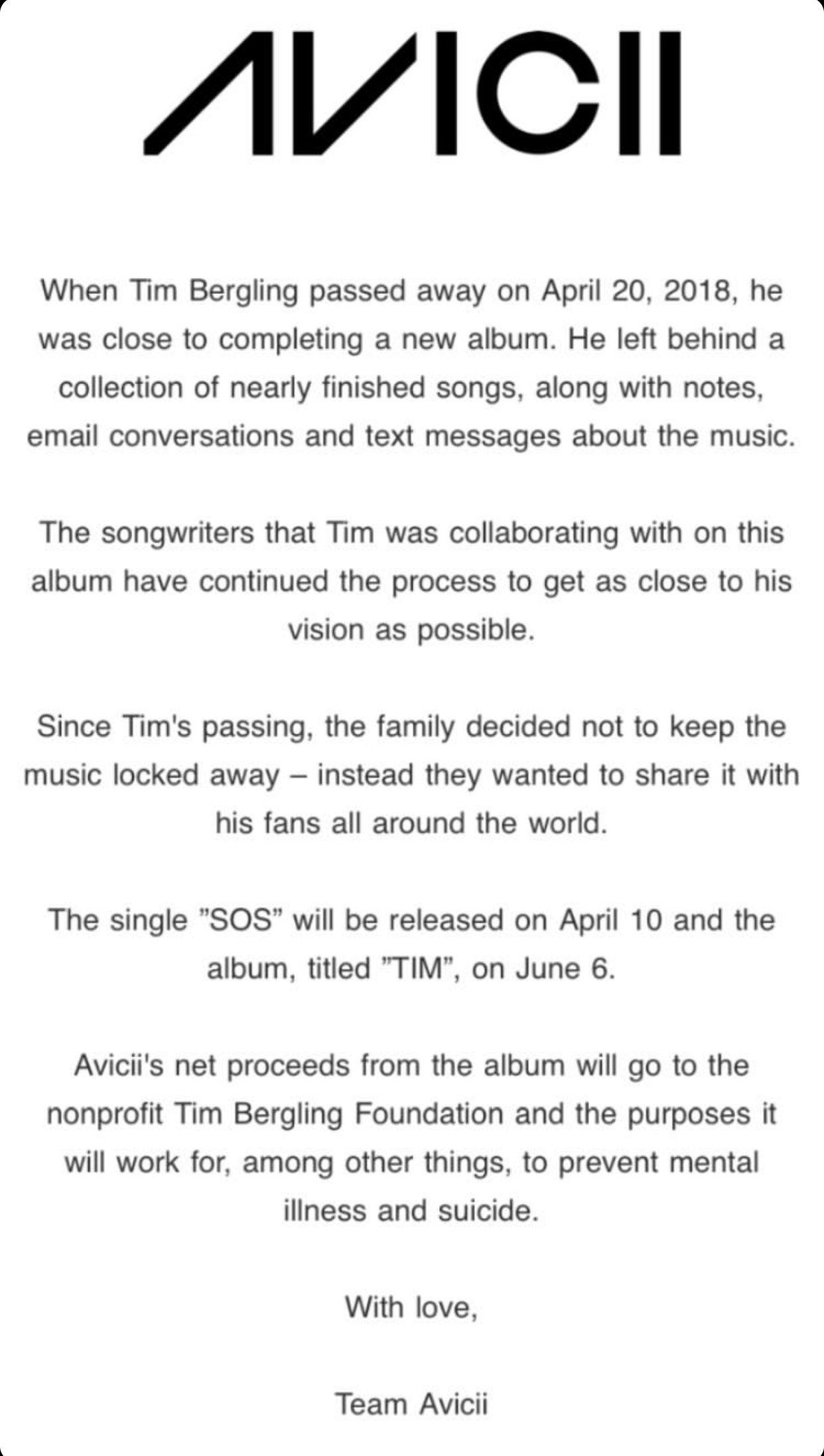 Avicii The Story Behind The Album Tim Avicii Avicii Songs Avicii Album