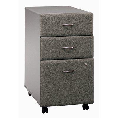 Bush Business Furniture Series A 3 Drawer Vertical File Finish Pewter Assembled Business Furniture Drawer Filing Cabinet Furniture