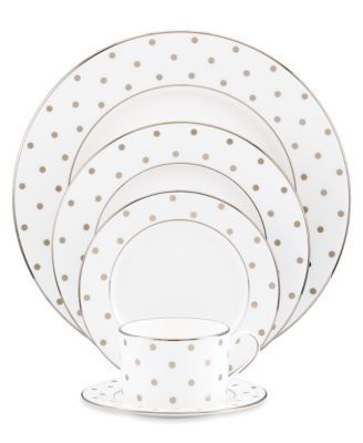 Pretty sure this is the Kate Spade china I've always been a fan of.